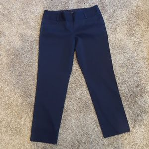 The Limited collection size 4 Drew Fit navy pant
